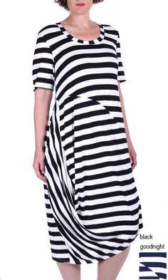 Stripe Luna Dress
