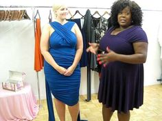 Monif C. Plus Sizes Marilyn Convertible Dress Video #5 - Ruched Convertible
