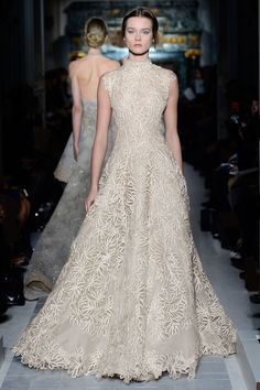 We've been seeing some gorgeous gowns on the runway in Paris this week, but none compare to Valentino's Couture show. Check out some of the stunning gowns and tell us what one is your favorite!