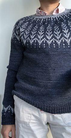 Ravelry: Vintersol pattern by Jennifer Steingass Double Knitting Patterns, Fair Isle Knitting Patterns, Knitting Blogs, Sweater Knitting Patterns, Knitting Designs, Knit Patterns, Easy Knitting, Norwegian Knitting, Icelandic Sweaters