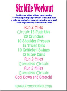Get your workout in with this strength and cardio circuit.