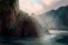 Ruins by RichardDorran on DeviantArt