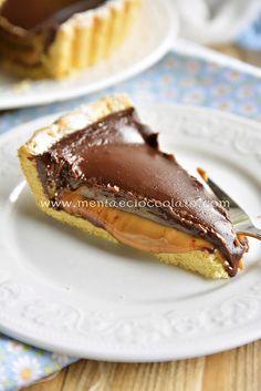 Menta e Cioccolato: Chocolate and Caramel Tarte - Torta al cioccolato e dulce de leche e se preferite Torta Twix!