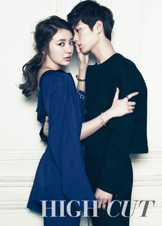 Yoon Eun Hye and Seo Kang Joon Get Close in First Meeting for High Cut Pictorial | Soompi