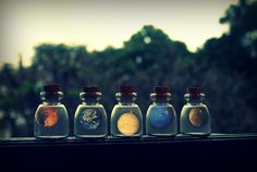 curitas:    The solar system in my hands. .front page. (by Beautiful-Imperfections)