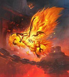 Druid of the Flame - Card - Hearthstone