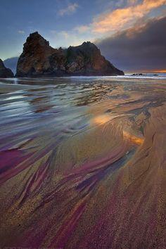 Pfeiffer Purple Sand Beach, California