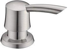 GICASA Bathroom Kitchen Sink Soap Dispenser, High-capacity 320ML ABS Bottle Soap Dispenser Brushed Nickel Finish - - Amazon.com Nickel Finish, Brushed Nickel, Sink Soap Dispenser, Kitchen Sink, Home Improvement, Bathroom, Bottle, Modern, Abs