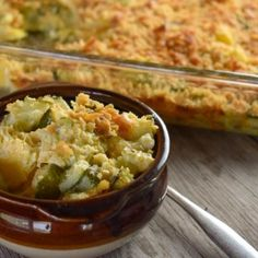 Cheesy Summer Squash and Zucchini Casserole - These Old Cookbooks Baked Squash And Zucchini Recipes, Yellow Squash Recipes, Yellow Squash And Zucchini, Zucchini Casserole, Squash Casserole, Casserole Recipes, Entree Recipes, Veggie Recipes, Chicken Recipes