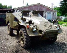 БТР-40 легкий советский бронетранспортер