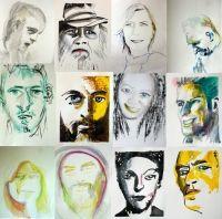 Tra settembre e ottobre riprenderà il corso sul ritratto presso l'associazione Art&Sol in via S.Paolino 18 nel quartiere S.Ambrogio a Milano, (Famagosta)