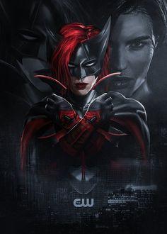 Batwoman PROMO Poster 2011 DC Comics J.H Williams III Amy Reeder CW