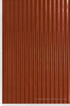 Papier Peint Rayures satinées rouges - Prestige 2 de Lutèce  | Réf. LTC-CS27316
