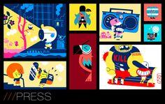 Book de /// Artizarnal via http://artizarnal.ultra-book.com/portfolio
