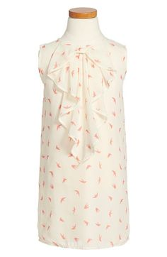Appaman Sleeveless Chiffon Dress (Toddler Girls, Little Girls & Big Girls) available at #Nordstrom
