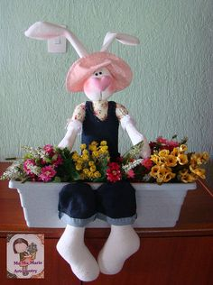 Coelha jardineira