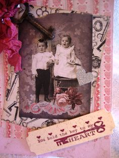 Valentine Card  You Hold the Key to My by AshbrookeSalutations, $5.75