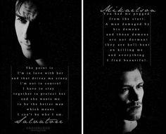 Damon and Klaus. I love them. ❤️