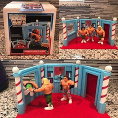 Wwf Superstars, Wrestling Superstars, Wwe Action Figures, Custom Action Figures, Wwf Toys, Wwf Hasbro, Ready To Rumble, Modern Toys, Playstation 5