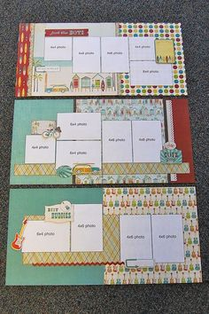 Image result for scrapbook page layouts