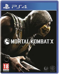 Mortal Kombat X (Game Cover PS4)