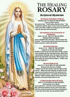 Thank you Blessed Holy Mother, Virgin Mary. Catholic Prayer For Healing, Prayers For Healing, Catholic Prayers, Hail Mary Prayer Catholic, Rosary Catholic, Fatima Prayer, Rosary Prayer, Holy Rosary, Prayers To Mary