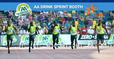 Ik maak kans op 2 plaatsen in de AA Drink Sprint Booth tijdens de AA Drink FBK Games op 24 mei. Doe ook mee!