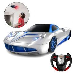 This Remote Control wall climbing Car is rechargable with USB that can operate in Dual Mode, including a rotation and stunt in high speed. High Performance Cars, Kids Electronics, Remote Control Cars, Police Cars, Pet Store, Stunts, Car Ins, Best Gifts, Racing
