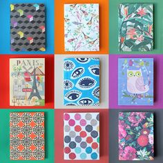 Our ever-changing linen notebooks - a customer and staff favourite
