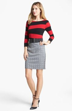 Vince Camuto Tee & Skirt  available at #Nordstrom