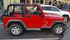 Nice Jeep!  #protecautocare #engineflush #jeep #wrangler #suv #red #classic #american #convertible #nofilter #followus