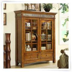 Riverside Craftsman Home Door Bookcase