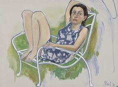 "Alice Neel's ""Nancy"", 1980"