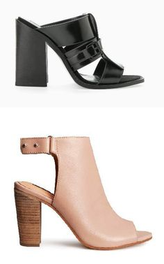 Mules are a hot fashion trend for Spring 2016 Latest Shoe Trends, 2016 Trends, Spring Has Sprung, Spring 2016, Fashion Advice, Heeled Mules, Spring Fashion, Winter Outfits, Footwear