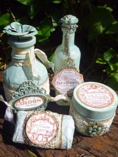 Words and Pictures: The Parfumerie Collection