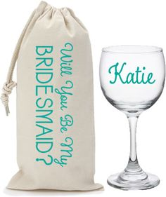 """The perfect way to ask """"Will you be my bridesmaid?"""""""