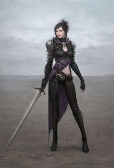 stand alone [ female, warrior ]