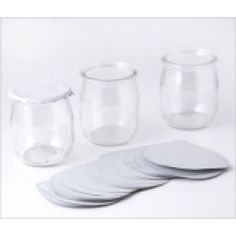 Thermo Seal Covers for Yoghurt Pots Breakfast Buffet, Vide, Boutique, Glass Of Milk, The 100, Tableware, Merlin, Jars, Bb