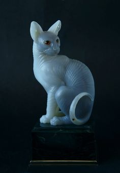Cat Gemstone Carvings