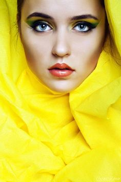 Shrouded in yellow