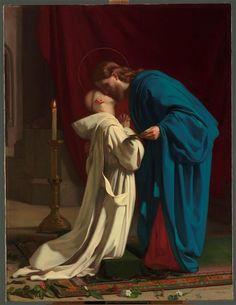 La Santa Comunione Catholic Art, Catholic Saints, Roman Catholic, Religious Art, Catholic School, Communion, Image Jesus, Catholic Pictures, Jesus Painting