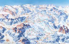 Skicivetta - Ski Map