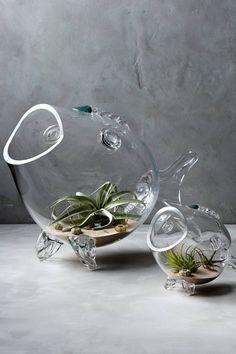Thalassic Fish Vase
