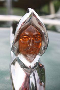 1950 DeSoto Custom hood ornament