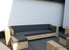 Bauholz Lounge-Sofa Stuttgart