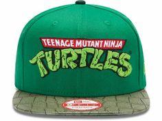 Teenage Mutant Ninja Turtles TMNT Official Logo 9FIFTY Strapback Cap Hats #snapback #snapbax #teenagemutantninjaturtles
