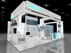 siemens booth design - Google 검색