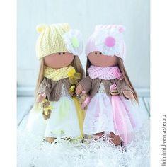 handmade Dolls Tilda.  Mestres Fair - feito à mão.  Comprar Twins.  Handmade.  Bege, boneca handmade
