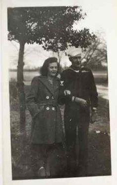 Submitted by Jack Thompson/This is a picture of Joseph Thompson, born 1909, and Patricia (Myrose) Thompson, born 1911