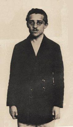 Gavrilo Princip (13 July 1894  28 April 1918) was the man who assassinated Archduke Franz Ferdinand of Austria and his wife Sophie Duchess of Hohenberg in Sarajevo on 28 June 1914. Princip and his accomplices were arrested and implicated a number of members of the Serbian military leading Austria-Hungary to issue a démarche to Serbia known as the July Ultimatum. This set off a chain of events that led to World War I